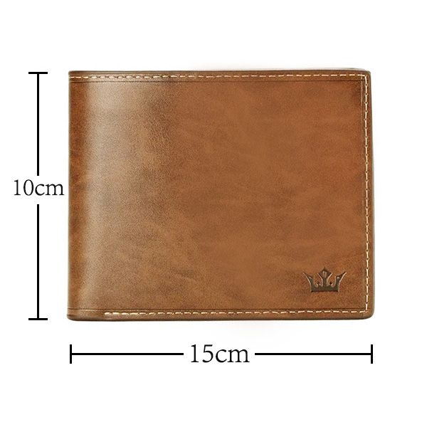 Personalized Photo Leather Men's Wallet - Genuine Leather