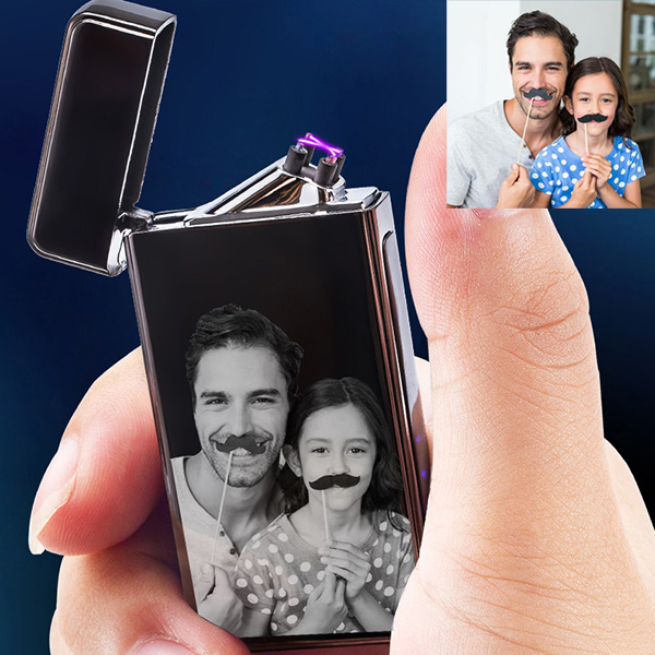 Customize USB Windproof Electronic Lighter