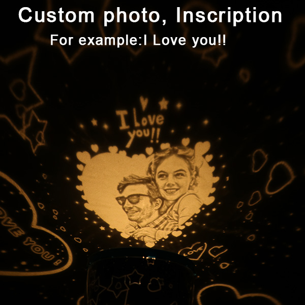 Customized Night Light Projection Lamp