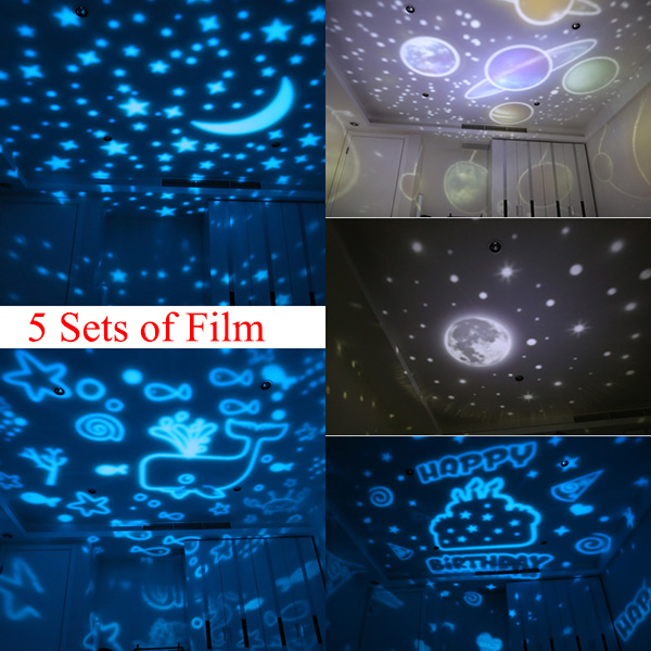 Universe Night Light Projection Lamp